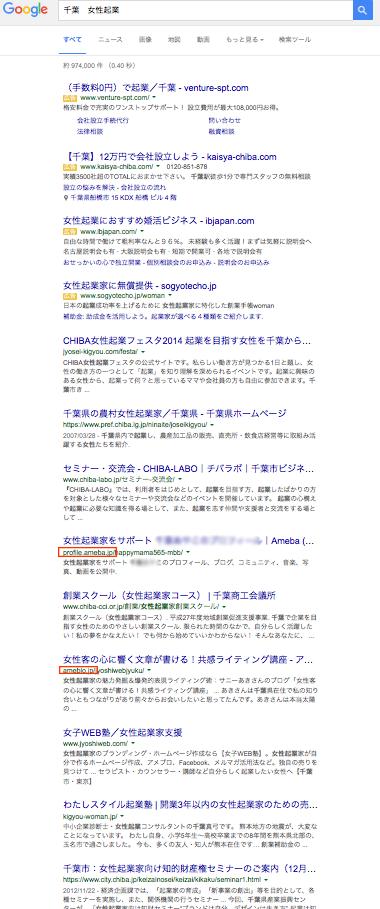 千葉 女性起業で検索