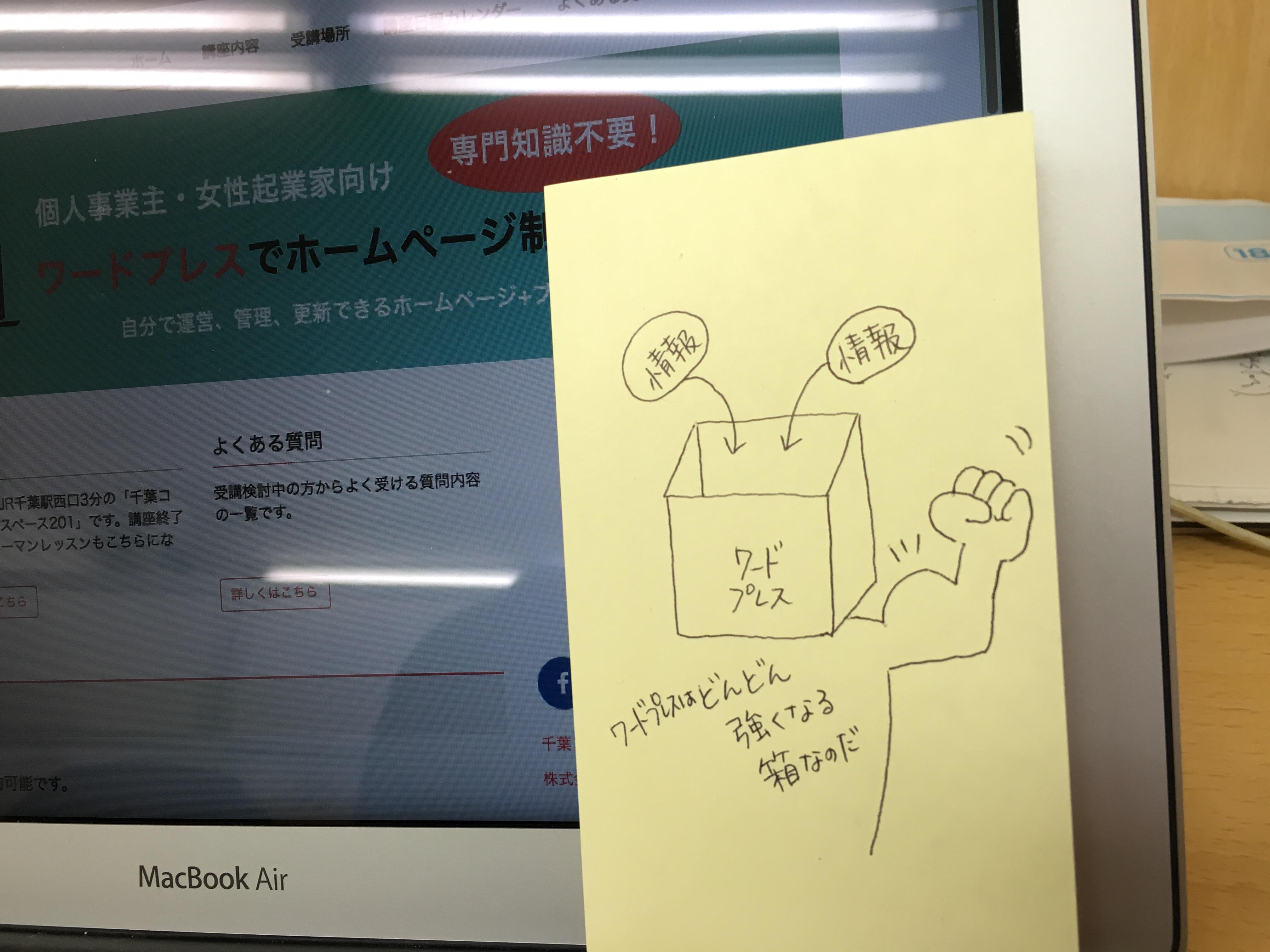 千葉・集客のためのワードプレス基礎構築講座